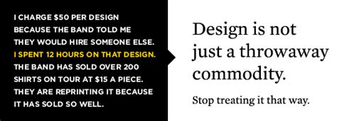 Design Is Not A Commodity   15 awful mistakes made by designers in the music apparel