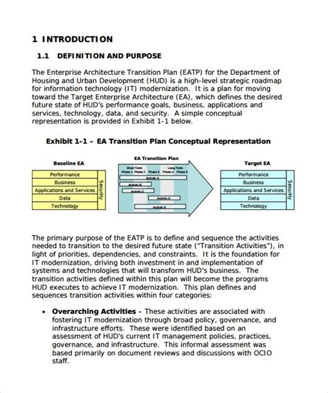 9 Sle Transition Plans Pdf Word Pages Sle Templates Managed Services Transition Plan Template