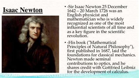 biography of isaac newton and his contribution wh 1112 the scientific revolution