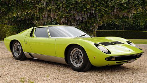 Lamborghini Vintage Cars Vintage Cars Lamborghini Miura Classic Cars Wallpapers