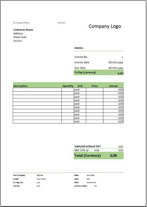 Rechnung Auf Englisch Vorlage Kostenlose Rechnungsvorlage Herunterladen Deutsche Rechnungsvorlage