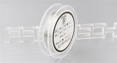 Stainless Steel 304 Wire 26 Awg Ss Kawat Not Kanthal For Vaporizer 1 3 17 authentic mkws 316 stainless steel resistance wire for rebuildable atomizers 28 awg 0