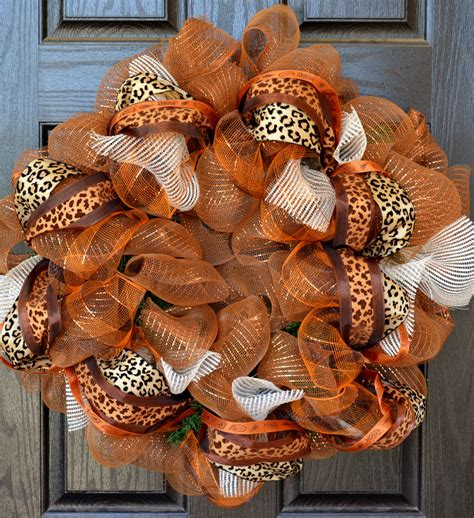 Handmade Fall Wreaths - fall wreath custom wreath handmade wreaths deco mesh