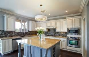 How To Replace Kitchen Cabinet Doors refacing or refinishing kitchen cabinets homeadvisor