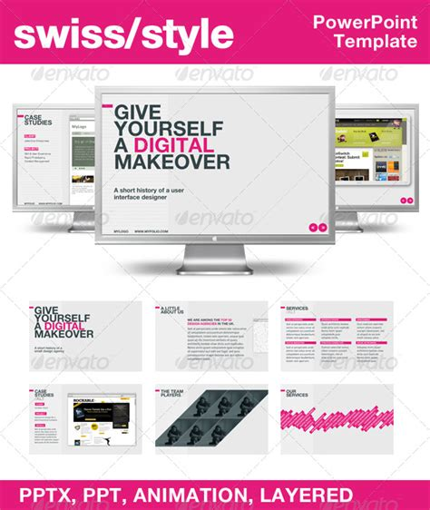 presentation magazine free powerpoint template 30 most beautiful powerpoint templates and designs