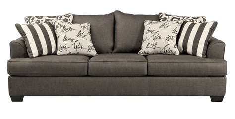 ashley levon sofa reviews ashley contemporary levon charcoal sofa the classy home