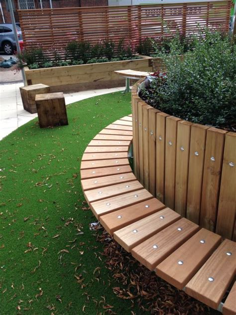New Sleepers For Garden by Hospital Raised Beds With Railway Sleepers