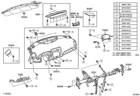 Toyota Parts Catalog Diagram Toyota Camry Parts Catalog Html Auto Parts Diagrams