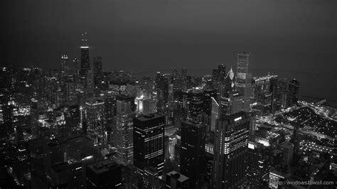 chicago black  white hd wallpaper windows  wallpapers