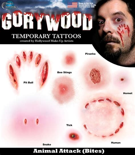 attaques d animaux amp morsures gorywood tattooforaweek