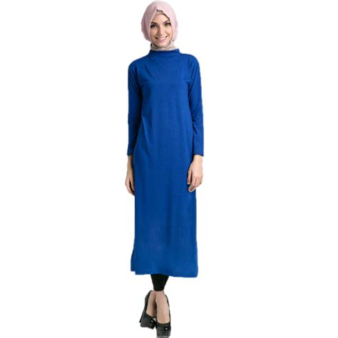 Kaos All Sz Fit L 16 manset gamis kaos high quality 16 colours all size big size elevenia