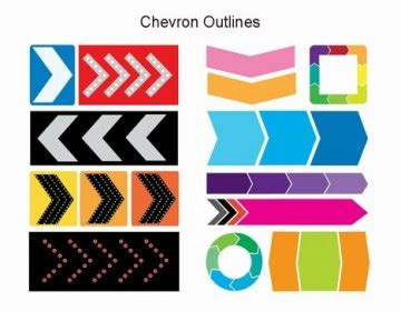chevron powerpoint template bestppts