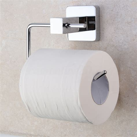 stainless steel chrome bathroom toilet paper roll tissue