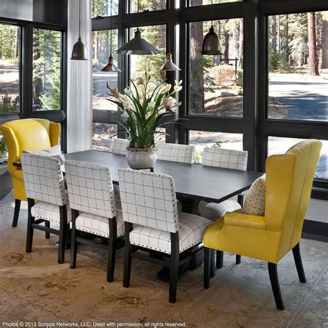 pinterest pictures of yellow end tables with gray cameron dining table ethan allen us dining room