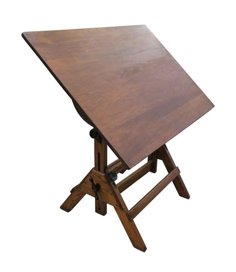 Antique Oak Drafting Table Antique Oak Drafting Table Olde Things
