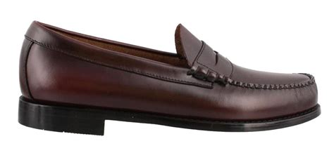 low v loafers gh bass and co larson slip on loafer leather mens loafers