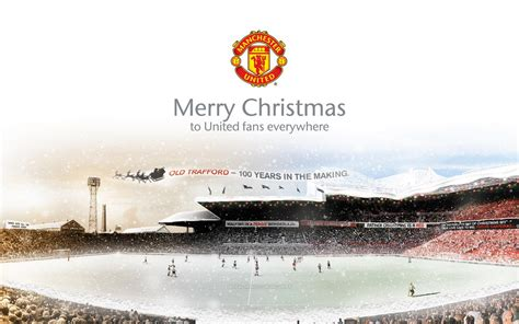 manchester united christmas 2010 wallpaper man united