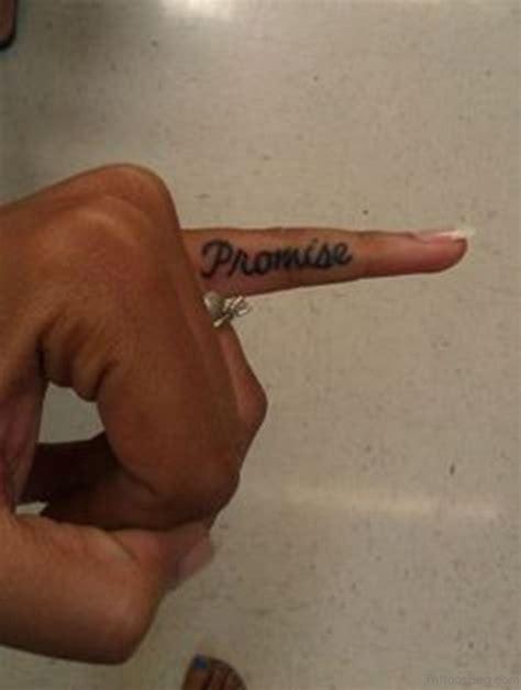 promise tattoo on little finger 54 likeable promise finger tattoos