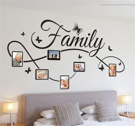 Wall Sticker Uk 2x60x90 Motif Frame Families wall sticker family photo frame butterflies tenstickers
