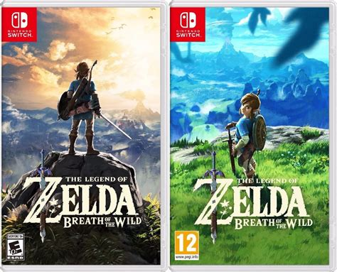 zelda breath of the wild north american vs european