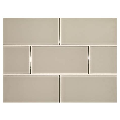 subway tile colors phenomena glass tile sultan gray 3 quot x 6 quot subway tile