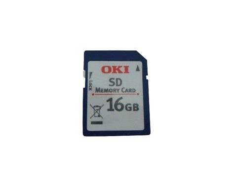 Memory V 16gb Sd Card Turbo okidata mb491 mb491 lp sd memory card oem 16gb