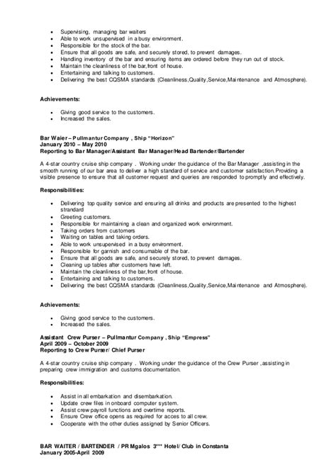 Bar Worker Cover Letter by Exles Of Cover Letters For Bar Work Copywriterbiolean X Fc2
