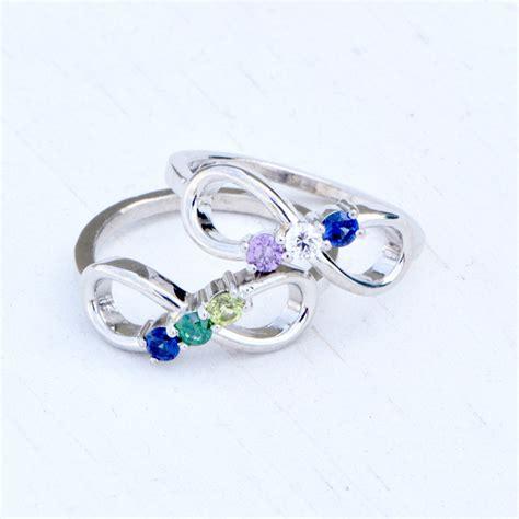 Birthstone Rings by Infinity Birthstone Ring Birthstone Infinity