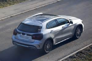 Mercedes News 2017 Mercedes Gla Facelift Spied With Minimum Camo