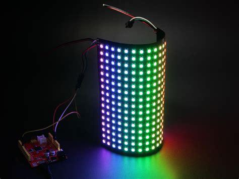 Led Matrix 16x16 rgb led matrix w ws2812b dc 5v led for interaction seeed studio