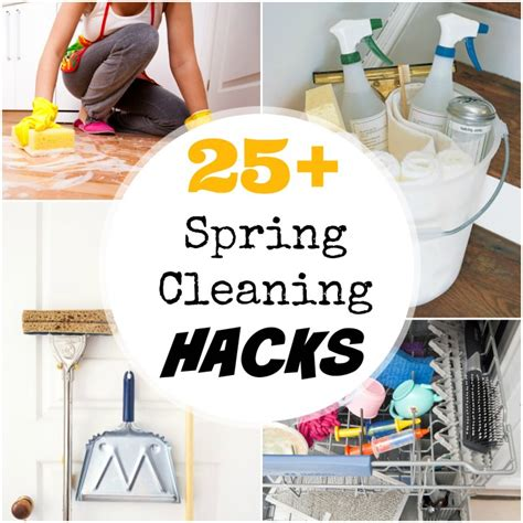 cleaning house hacks 25 spring cleaning hacks for your home creative juice