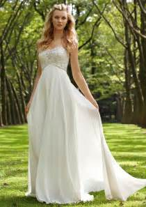 Backyard Wedding Dress Ideas Cool Casual Summer Outdoor Wedding Dresses Sangmaestro