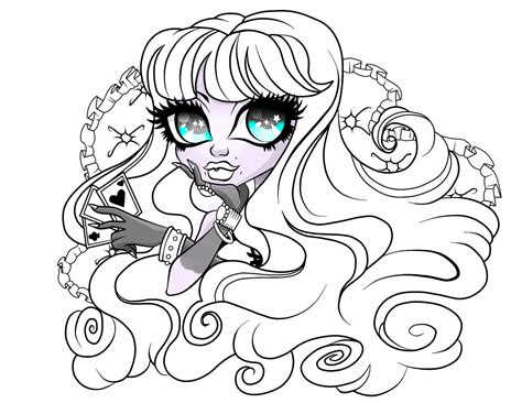 monster high haunted twyla coloring pages twyla coloring page by artisianromeo on deviantart