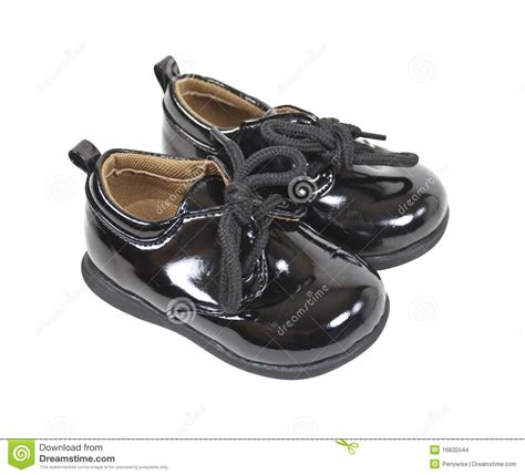 shiny formal baby shoes stock images image 16835544