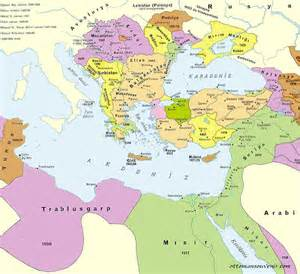 Map Of Ottoman Empire 1914 The Ottoman Empire Maps