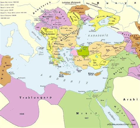 ottomans in europe the ottoman empire maps