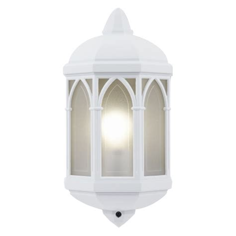 Brighton White Outdoor Wall Light Yg 065 Wh Lighting Superstore