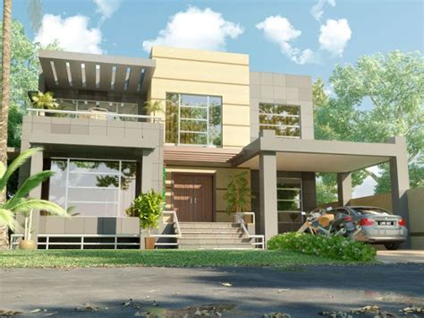 3d front elevation com beautiful modern contemporary 3d front elevation beautiful modern 1 kanal home 3d front