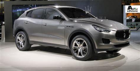 2013 maserati suv maserati suv vanaf 2013 in productie te detroit auto