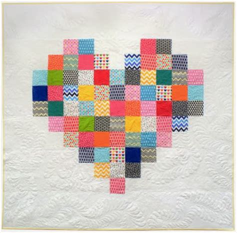 heart pattern quilt quilt inspiration free pattern day hearts and valentines