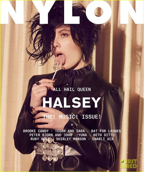 I Just This Magazine Neet The Next Issue Is In March 2007 by Halsey Says She S The Artist In The World No One
