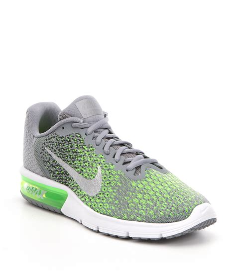 nike knitted shoes nike 180 s air max sequent 2 knit lace up running shoe