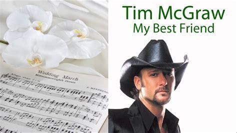 My Best Friend (Tim McGraw)   Wedding Music Samples   YouTube