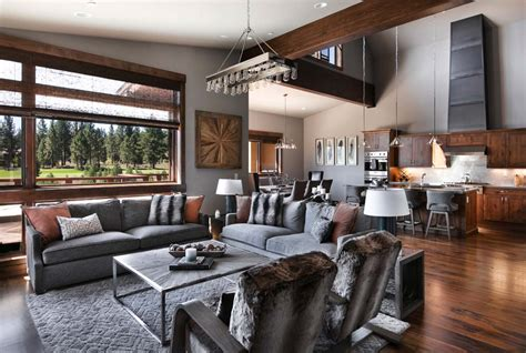 contemporary homes interior designs warm and relaxing mountain contemporary home in truckee
