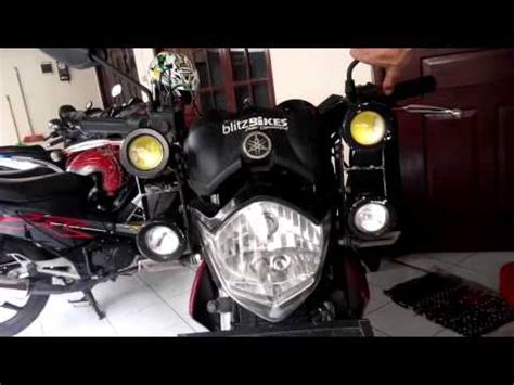 Tv Vixion Led lu strobo on new mega pro by sigma variasi probolinggo funnydog tv