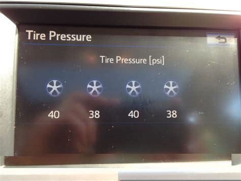 Toyota Camry Recommended Tire Pressure Brian Morris Technology Services 2012 Toyota Camry Tire
