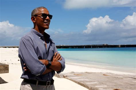 vacation obama a look inside barack and michelle obama family vacation in polynesia celebrity insider