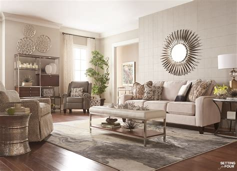 How To Decorate Your Living Room 6 Decor Tips How To Create A Cozy Living Room Setting For Four