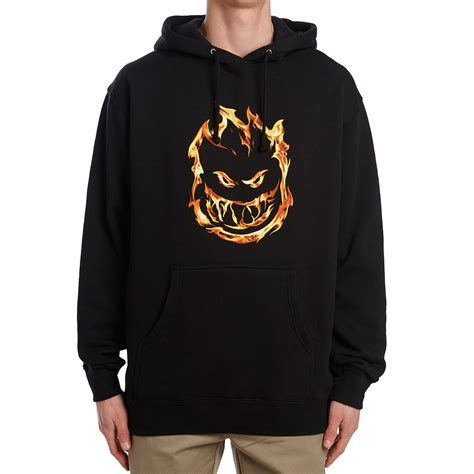 Spitfire Sweatshirt spitfire 451 hoodie black