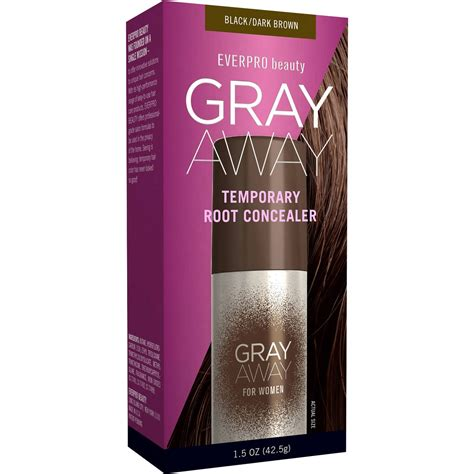 gray away root concealer gray away hair dye as seen on everpro beauty gray away for women temporary root